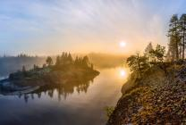 Ladoga lake, Karelia