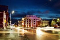 Centre city of Petrozavodsk (Lenina pr.)