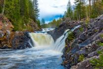 Waterfall of Kivach